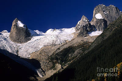 Technical Photograph - The Bugaboos Canada by Bob Christopher
