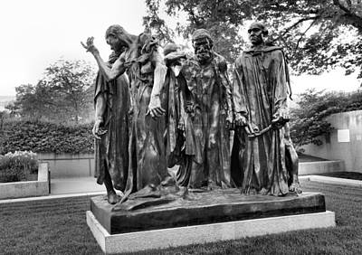 The Burghers Of Calais Print by Steven Ainsworth
