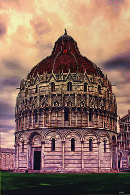 the Campo dei Miracoli - Italy Print by Tom Prendergast