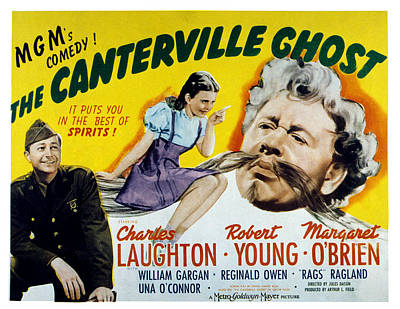 1944 Movies Photograph - The Canterville Ghost, Robert Young by Everett