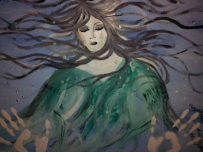 The Capture Of Haunting Beauty  Print by Ronald Mcduff