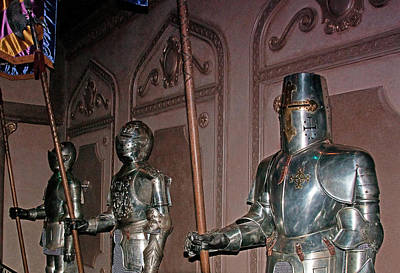 The Castle Guards Print by John Black