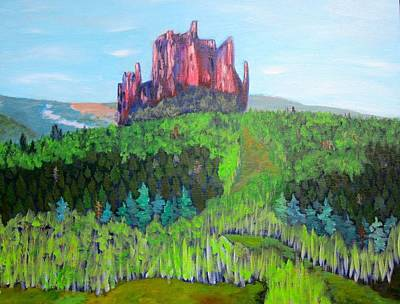 The Castle Original by Kathryn Barry