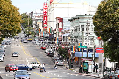 Eureka Valley Photograph - The Castro In San Francisco . 7d7567 by Wingsdomain Art and Photography