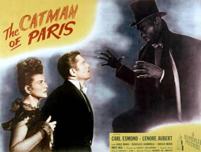 The Catman Of Paris, Lenore Aubert Print by Everett