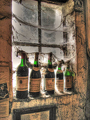 The Cellar Window Print by William Fields