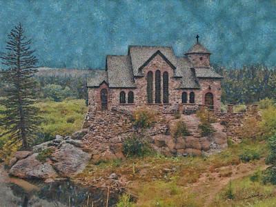 Catholicism Digital Art - The Chapel by Ernie Echols