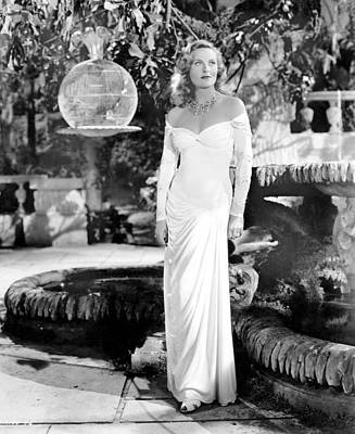 1946 Movies Photograph - The Chase, Michele Morgan, 1946 by Everett