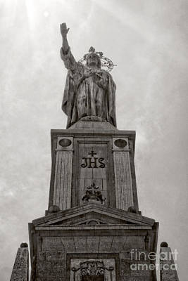 The Christking Monument Print by Angela Doelling AD DESIGN Photo and PhotoArt