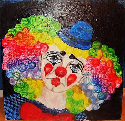 Painting - The Clown In Me by Jeanne Mytareva