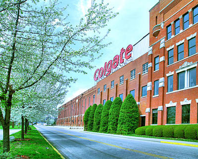 Clarksville Photograph - The Colgate-palmolive Building I by Steven Ainsworth
