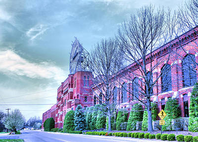 Clarksville Photograph - The Colgate-pamolive Company Building II by Steven Ainsworth