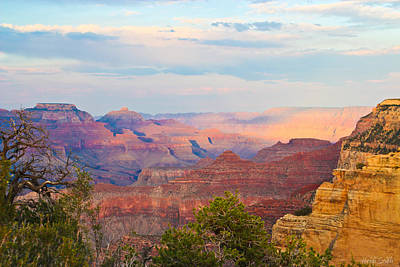 The Colors Of The Canyon Print by Heidi Smith