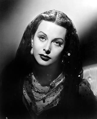 1944 Movies Photograph - The Conspirators, Hedy Lamarr, 1944 by Everett