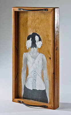 Sculpture - The Corset by Susan McCarrell