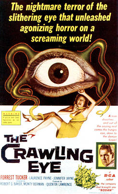 The Crawling Eye, Forrest Tucker Right Print by Everett