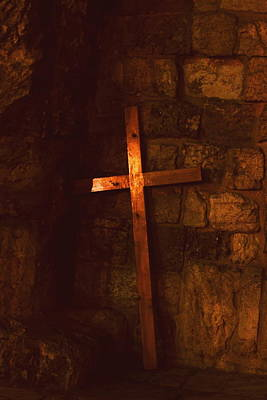 The Cross Print by Amr Miqdadi