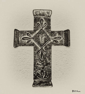 Jesus Photograph - The Cross by Bill Cannon