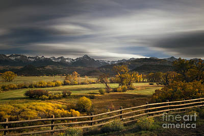 Fall Scenes Photograph - The Dallas Divide by Keith Kapple