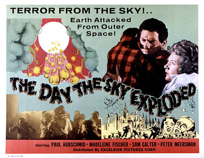 The Day The Sky Exploded, Massimo Print by Everett