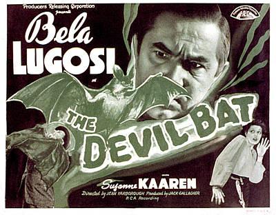 The Devil Bat, Bela Lugosi, Suzanne Print by Everett