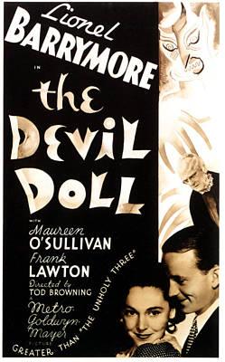 Maureen Photograph - The Devil Doll, Maureen Osullivan by Everett
