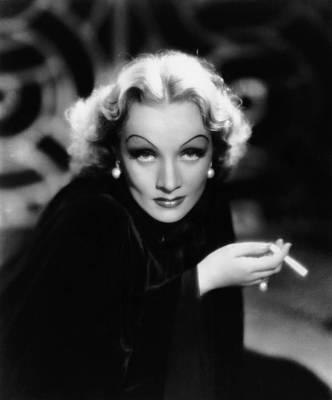 Earrings Photograph - The Devil Is A Woman, Marlene Dietrich by Everett