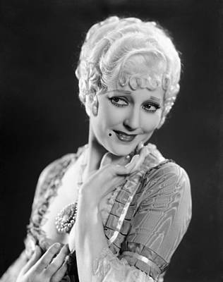 Beauty Mark Photograph - The Devils Brother, Thelma Todd, 1933 by Everett