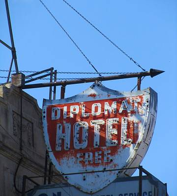 The Diplomat Hotel Chicago Print by Todd Sherlock