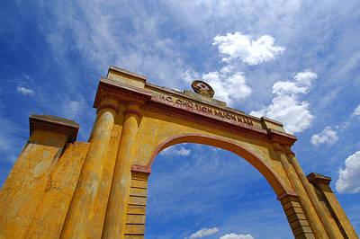 Entrance Memorial Photograph - The Dmz, Hue by Bernard Tey