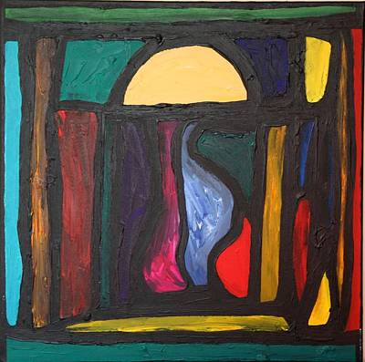 Integrated Painting - The Doorway by Darrell Black