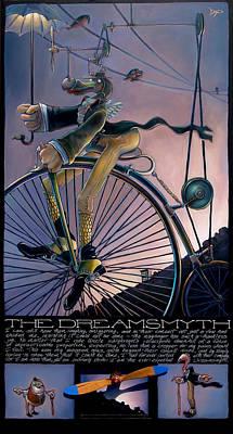 Flamingo Mixed Media - The Dreamsmyth by Patrick Anthony Pierson