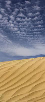 Panoramic Digital Art - The Dunes 2 by Mike McGlothlen