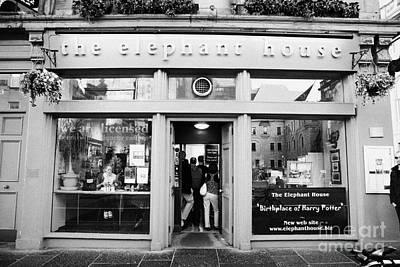 Tea Room Photograph - The Elephant House Gourmet Tea And Coffee House Edinburgh Scotland Uk by Joe Fox