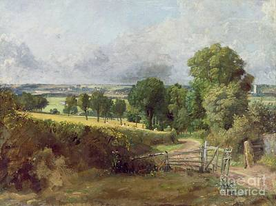 Fens Painting - The Entrance To Fen Lane By Constable John by John Constable