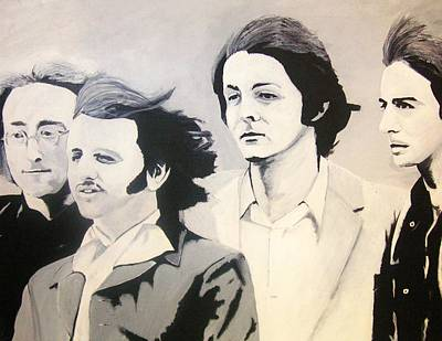 The Fab Four Print by Rock Rivard