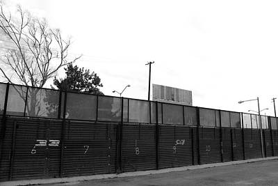 The Fence Print by Ivan SABO