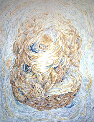 Cosmological Painting - The First Sun  by Daniel Gautier
