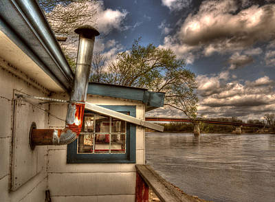 Fish Shacks Photograph - The Fish Shack by William Fields