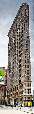 The Flat Iron Building Print by John Farnan
