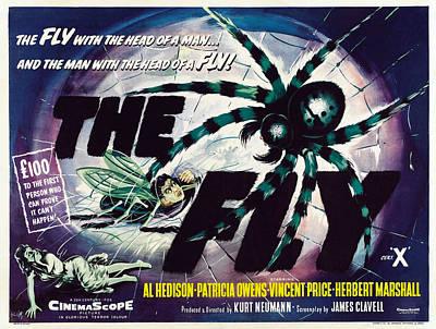 The Fly, David Hedison Aka Al Hedison Print by Everett