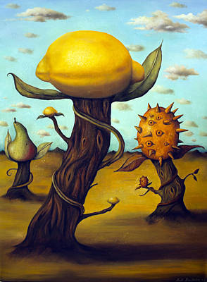 The Fruit Orchard Print by Leah Saulnier The Painting Maniac