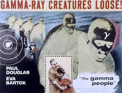 The Gamma People, Paul Douglas, Eva Print by Everett