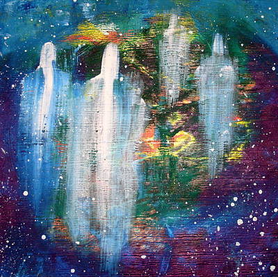 Painting - The Gate For Beings    by Paul Pulszartti