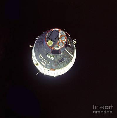 The Gemini 7 Spacecraft Print by Stocktrek Images