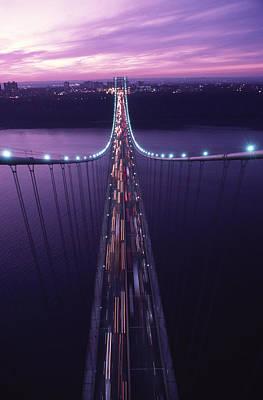 The George Washington Bridge Print by Michael Melford