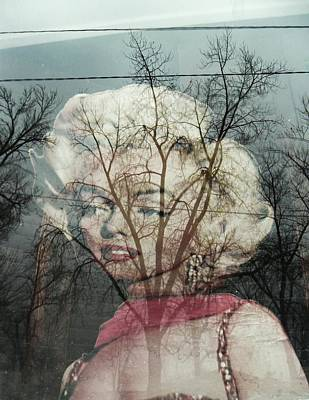 The Ghost Of Norma Jean Print by Todd Sherlock
