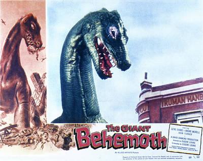 The Giant Behemoth, 1959 Print by Everett