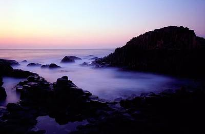The Giants Causeway, Co Antrim, Ireland Print by The Irish Image Collection