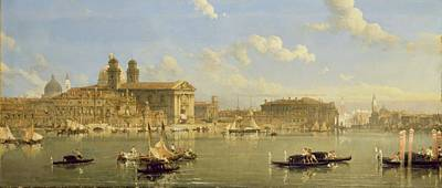 Dome Painting - The Giudecca - Venice by David Roberts